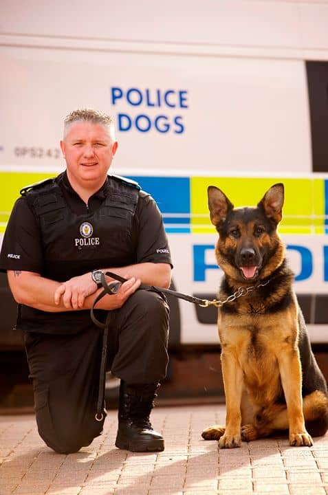Meet Greater Manchester's Police Dogs at The Garden House